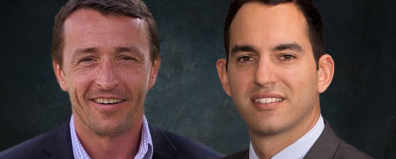 agora real estate group's elias patsalos and michael bibr