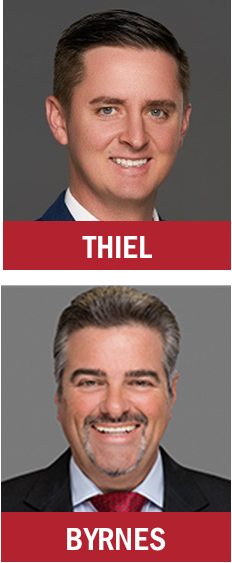 Berger Commercial Realty's Jonathan Thiel and Joseph Byrnes v