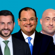 State Street Realty's George Pino, Brian Cabielles, Ed Lyden, Frank Trelles and Jason Gonzalez