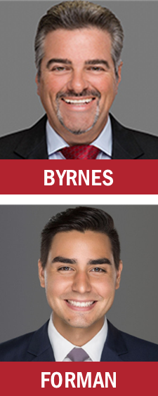 Berger Commercial Realty's Joe Byrnes and John Forman